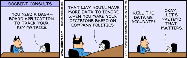 DilbertDataDrivenDecisions
