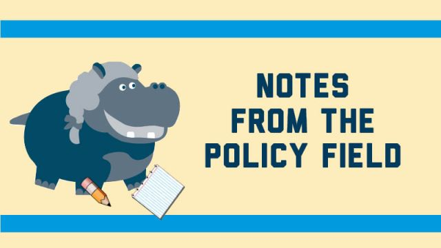 Notes from the Policy Field Graphic