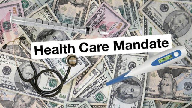 Health Care Mandate Graphic